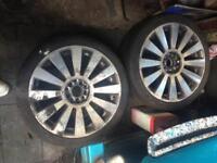 Audi a8 reps 18s