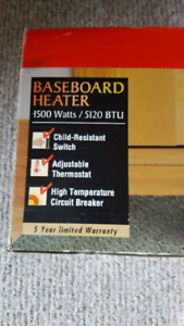 Honeywell  baseboard heater