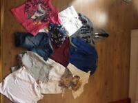 Bundle boys clothes 4-5yrs