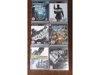 21 PLAYSTATION 3 GAMES FOR SALE...