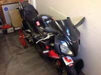 Rs 125 Aprillia learner legal with v5