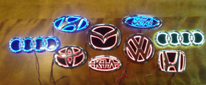 5D LED car emblem / badge