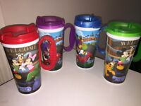 Walt Disney World Refill Mugs x4