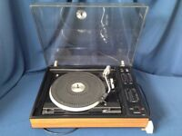 Vintage Ambassador Record Player Model Audio 9, With Two Speakers