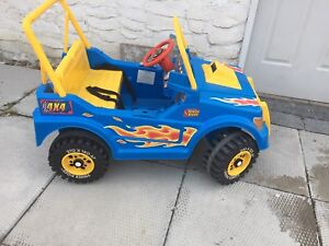 Kid 's electronic JEEP 1204 963 1600