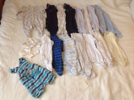 Tiny baby / first size clothes
