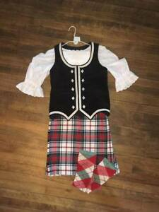 HIGHLAND DANCE COMPLETE OUTFIT