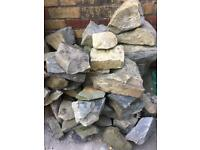 *FREE* Stones from garden wall.
