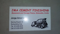 CEMENT FINISHER for Hire
