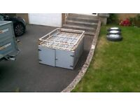 TRAILER TOP BOX ONLY PROFESSIONALLY MADE FOR ERDE 142