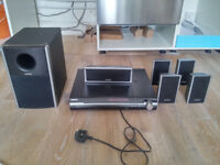 SONY Home theater system with DVD and subwoofer DAV-DZ260