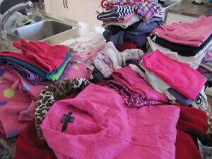 Vêtements filles, grandeur : 10-12 ans