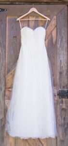 Classic Anais Anette Wedding Dress - Made in Canada!