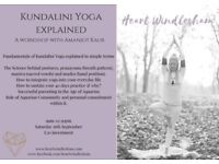 KUNDALINI YOGA EXPLAINED. Fundamentals explained. Science of postures, pranayama, mantra and mudra.