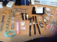 14, Watches,(10) Brand New) All for Quick sale £40 the lot