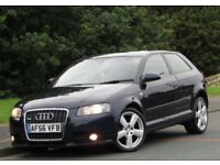 +++AUDI A3 2.0 TDI S Line 3dr +NEW SHAPE++170BHP++SUNROOF+++