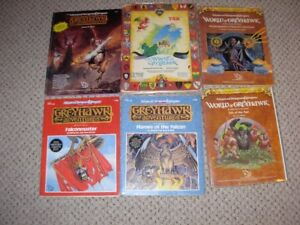 Dungeons and Dragons Greyhawk Items- TSR 1980's