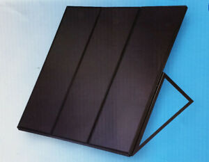 60 W Solar Panel Kit with Charge Controller and Frame - $110.