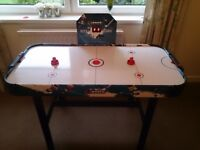 Air Hockey table with legs,under table electric fan, four foot table length