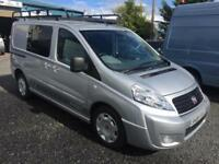 Fiat Scudo crew van 5 seater 1.6JTD Multijet 90 L1 H1 Comfort low miles 72830 on