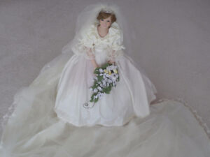 Princess Diana Bride Doll by Danbury Mint