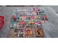 42 Elvis Monthly magazines from 1960s plus books
