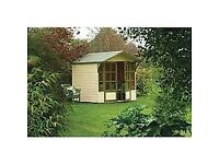 Eaton Summerhouse / Playhouse. New. Flatpack.PICK UP TODAY.