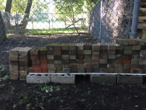 Old Rustic Antique Red Brick for Landscaping $1.00 for each