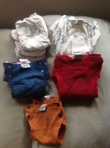 Wool Diaper Covers & Hemp Fitted Diapers