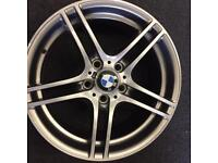 BMW 3 series/1 series 7.5x18 front alloy wheel for sale only got one £150 call 07860431401