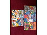 5 transformers 1980's ladybird books