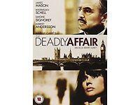 The Deadly Affair (1966) DVD, Starring James Mason, Rare!
