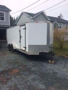 2011 16ft Vnose with ramp door