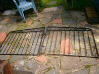 Wrought Iron driveway gates pair