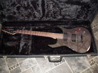 Washburn Dark 1 Electric Guitar limited edition Metal Inspired