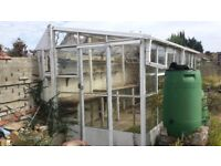"""Used Greenhouse """"lean to type"""""""