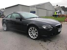 2006 BMW 630 3.0 auto i Sport. Stunning. Huge spec. 83000 miles.