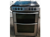 C089 Stainless Steel Belling 60cm Double Oven Gas Cooker, Comes With Warranty & Can Be Delivered