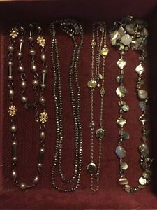 Variety of long necklaces - $25-$40 each