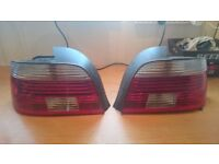 Bmw e39 tail lights. Facelift left right