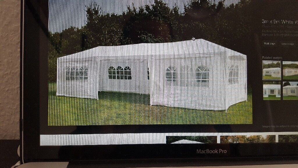 3M X9M GAZEBOO SIDES AND ROOF- NO POLES