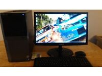 Computer Desktop PC Monitor - Gaming Office - Student - Home - Reboot Pc