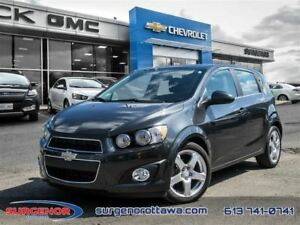 2015 Chevrolet Sonic (5) LT - 6AT - $99.09 B/W - Low Mileage