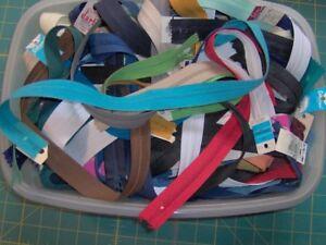 zipper assortment - 50+ in a box