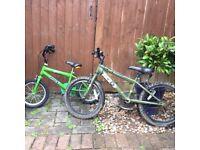 FREE - Two kids bikes