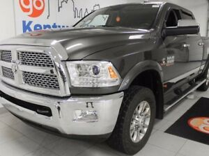 2014 Ram 3500 Laramie, leather, NAV, sunroof, backup cam