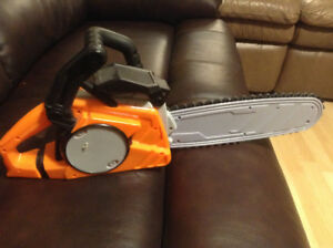 The Home Depot toy chainsaw