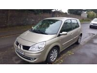 Renault Scenic 2008 1.6l, AUTOMATIC, 70k miles