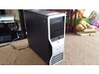 Octa-Core Gaming PC, Dual Quad Core 2.67Ghz, 8 Cores 16 Threads, 16GB DDR3 RAM, Nvidia FX 800 1.5GB!