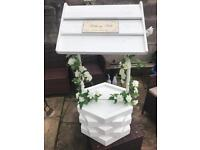 Wedding wishing well/post box for your cards! Made from solid wood.
